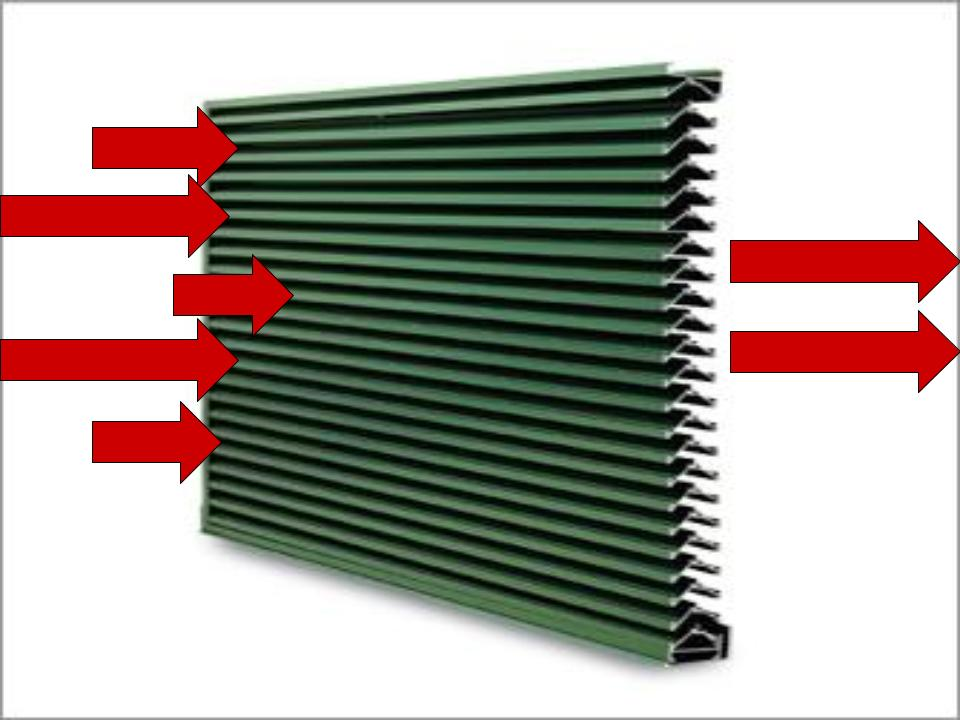 Example Diagram of Reduction in a Louver system